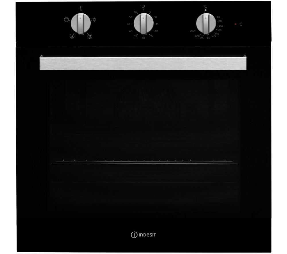 Indesit INDESIT  Aria IFW 6330 Electric Single Oven  Black Black