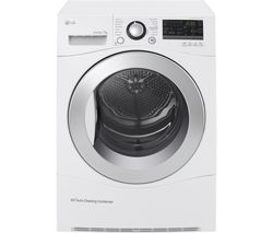 LG RC7055AH2M Condenser Tumble Dryer - White