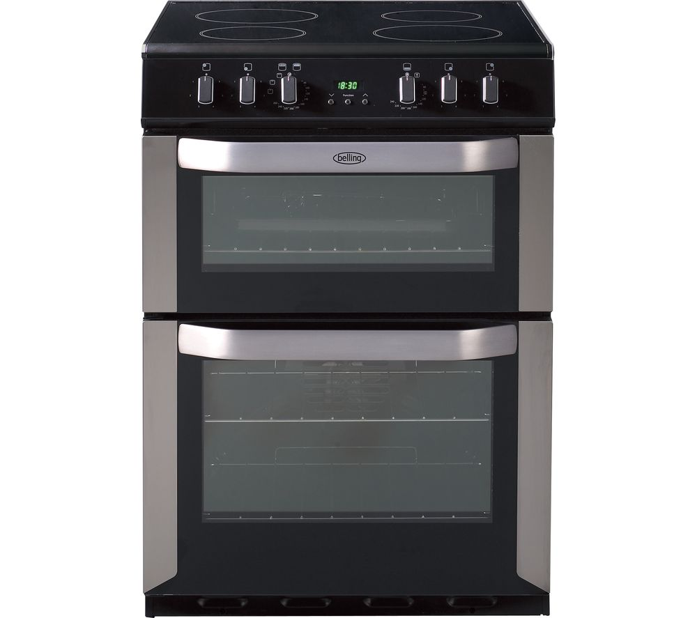 Buy Belling Fse60dop 60 Cm Electric Ceramic Cooker