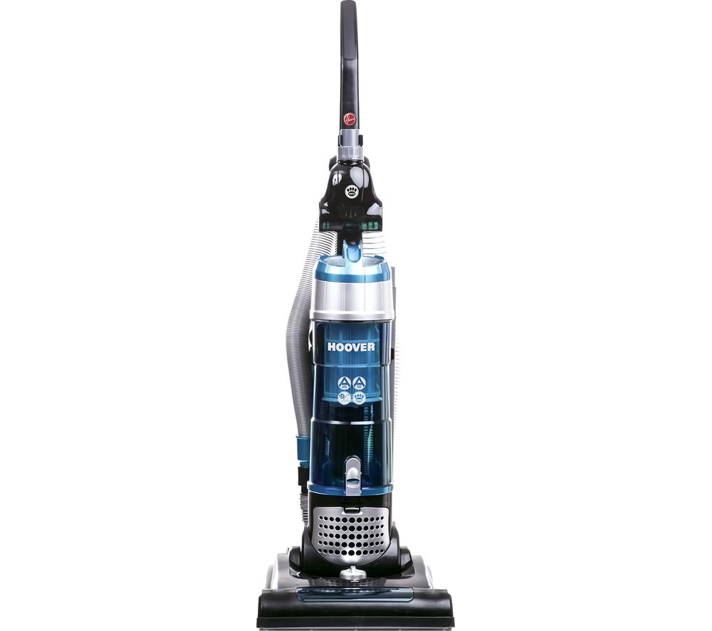HOOVER Breeze TH71BR02 Bagless Pets Upright Vacuum Cleaner - Black & Turquoise