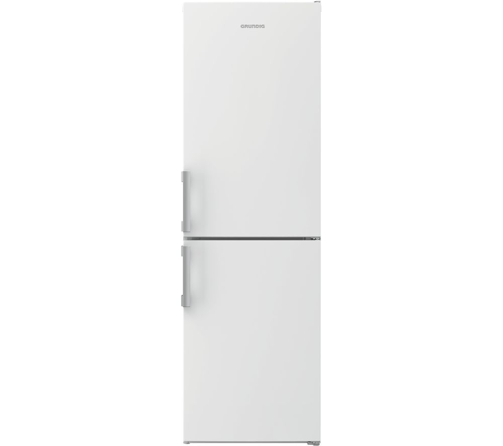 Image of GRUNDIG GKF15810W 50/50 Fridge Freezer - White, White