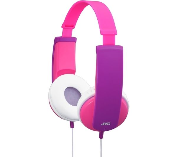 Click to view more of JVC  Tinyphones HA-KD5-P-E Headphones - Pink & Violet, Pink