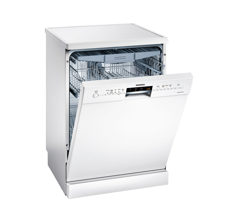 SIEMENS SN25M280GB Full-size Dishwasher - White
