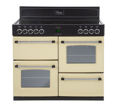 BELLING Classic 110E Electric Ceramic Range Cooker - Cream