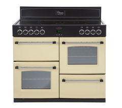 BELLING Classic 110E Electric Ceramic Range Cooker - Cream