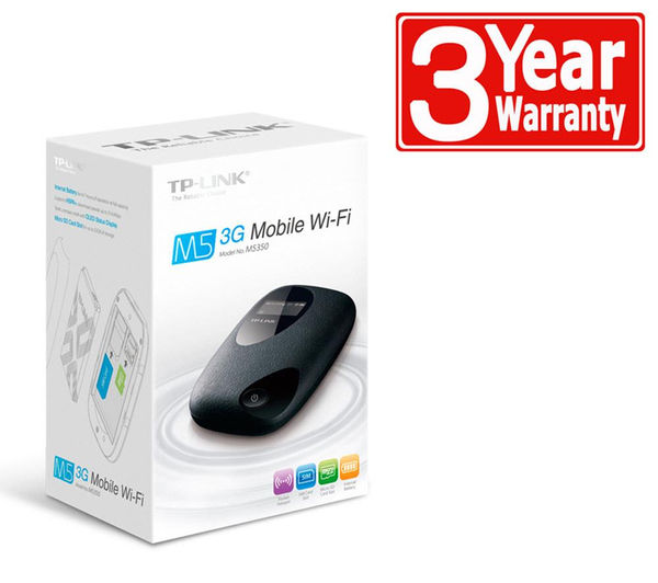 tp link m5350 sim free mobile wifi deals pc world. Black Bedroom Furniture Sets. Home Design Ideas