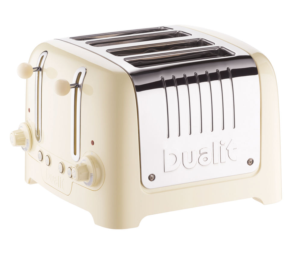 4 Slice Toaster ~ Buy dualit dl c slice toaster cream free delivery