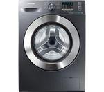 SAMSUNG ecobubble WF70F5E2W2X Washing Machine - Graphite