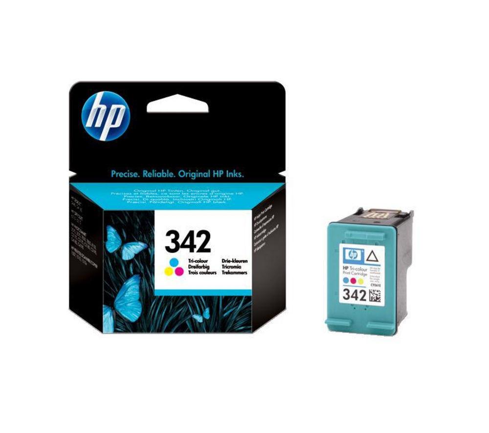 HP 342 Tri-colour Ink Cartridge