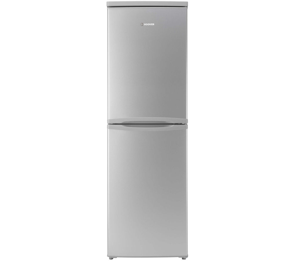 HOOVER  HSC574S Fridge Freezer  Silver Silver
