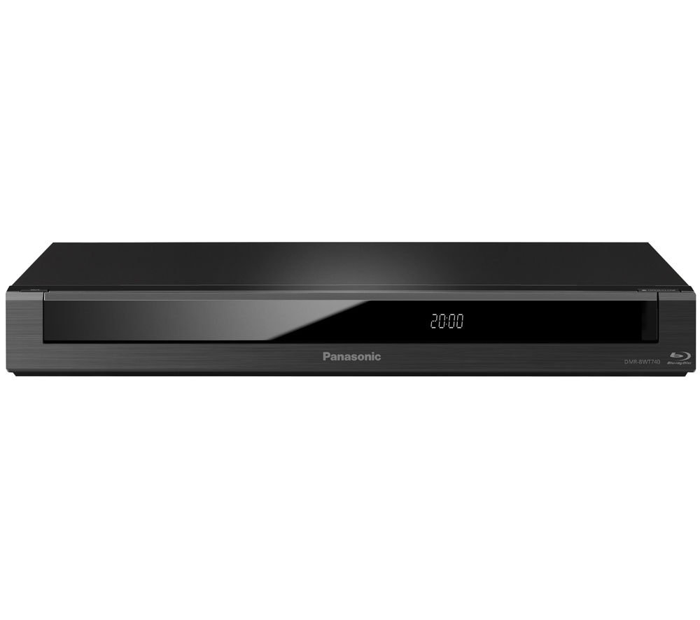 PANASONIC DMR-BWT740EB Smart 3D Blu-ray Recorder with Freeview+ HD Recorder - 1 TB HDD