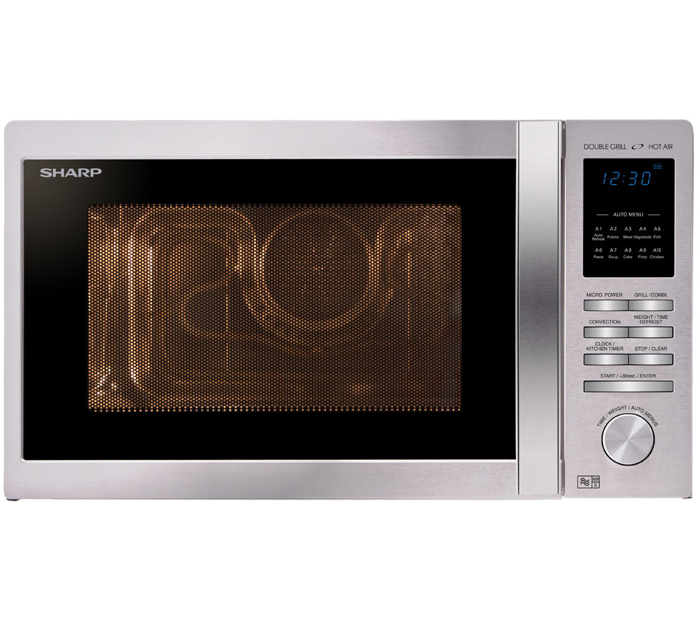 SHARP R822STM Combination Microwave - Stainless Steel