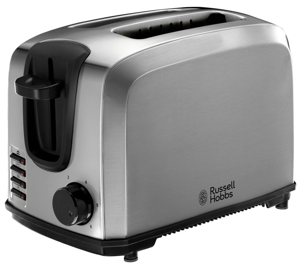 buy russell hobbs 20880 2 slice toaster stainless steel free delivery currys. Black Bedroom Furniture Sets. Home Design Ideas