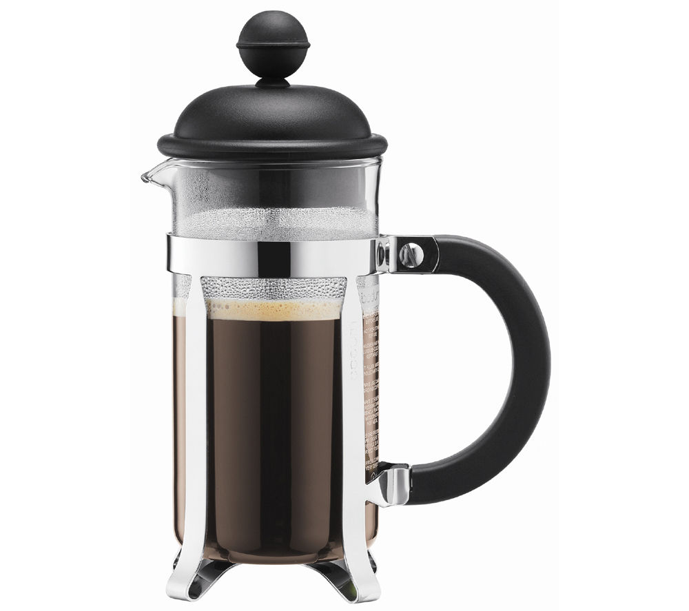 BODUM  191301 Caffettiera Coffee Maker  Black Black