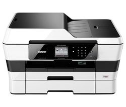 BROTHER MFCJ6720DW All-in-One Wireless A3 Inkjet Printer with Fax