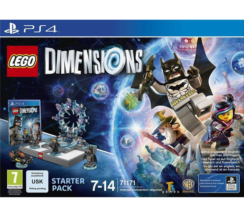 LEGO DIMENSIONS Starter Pack - for PS4