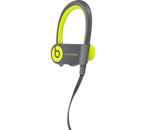 Image of BEATS Powerbeats² Wireless Bluetooth Headphones - Active Collection, Yellow