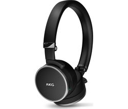 AKG N60NC Noise-Cancelling Headphones - Black