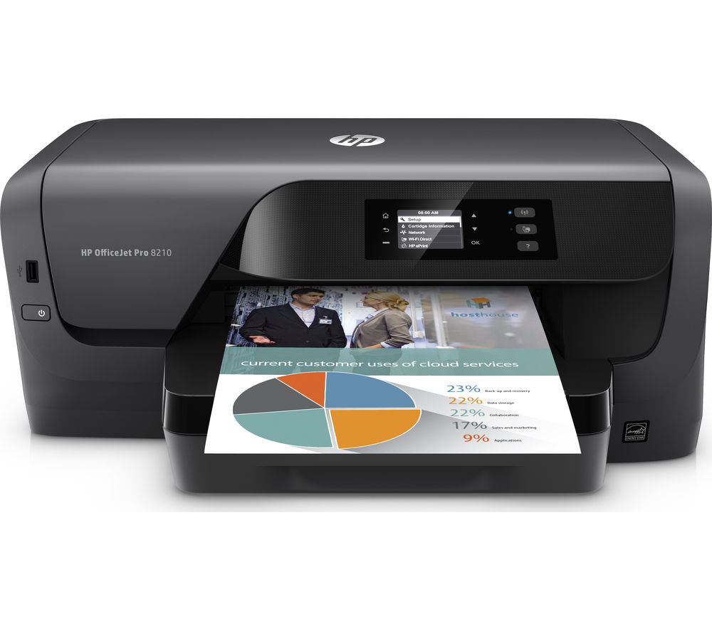 Image of HP Officejet Pro 8210 A4 printer
