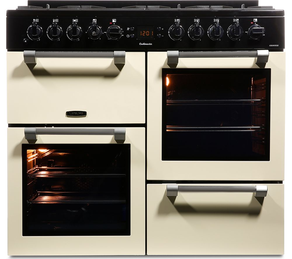 Buy Leisure Cookmaster Ck100f232c Dual Fuel Range Cooker