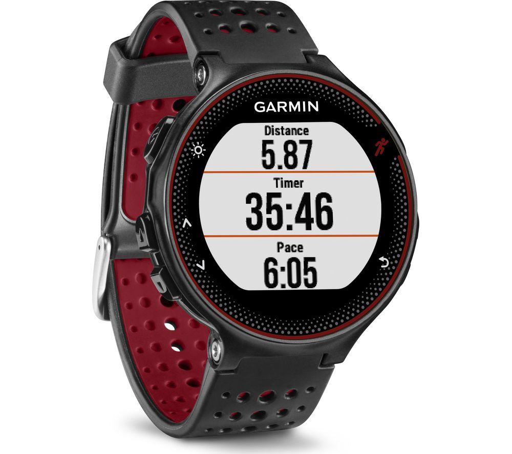 GARMIN Forerunner 235 - Black & Red