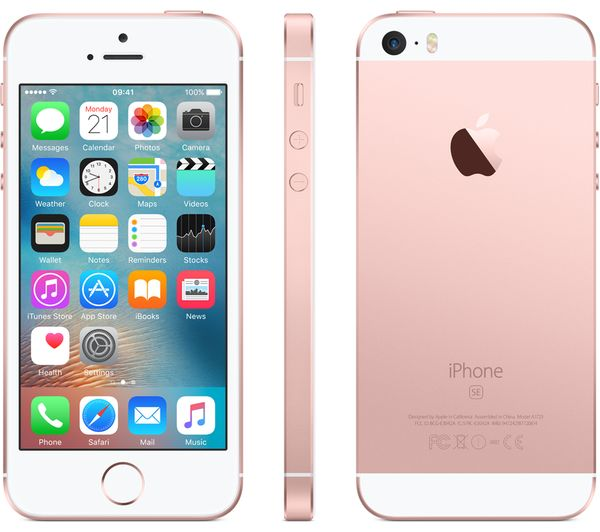 apple iphone se 32 gb rose gold deals pc world. Black Bedroom Furniture Sets. Home Design Ideas