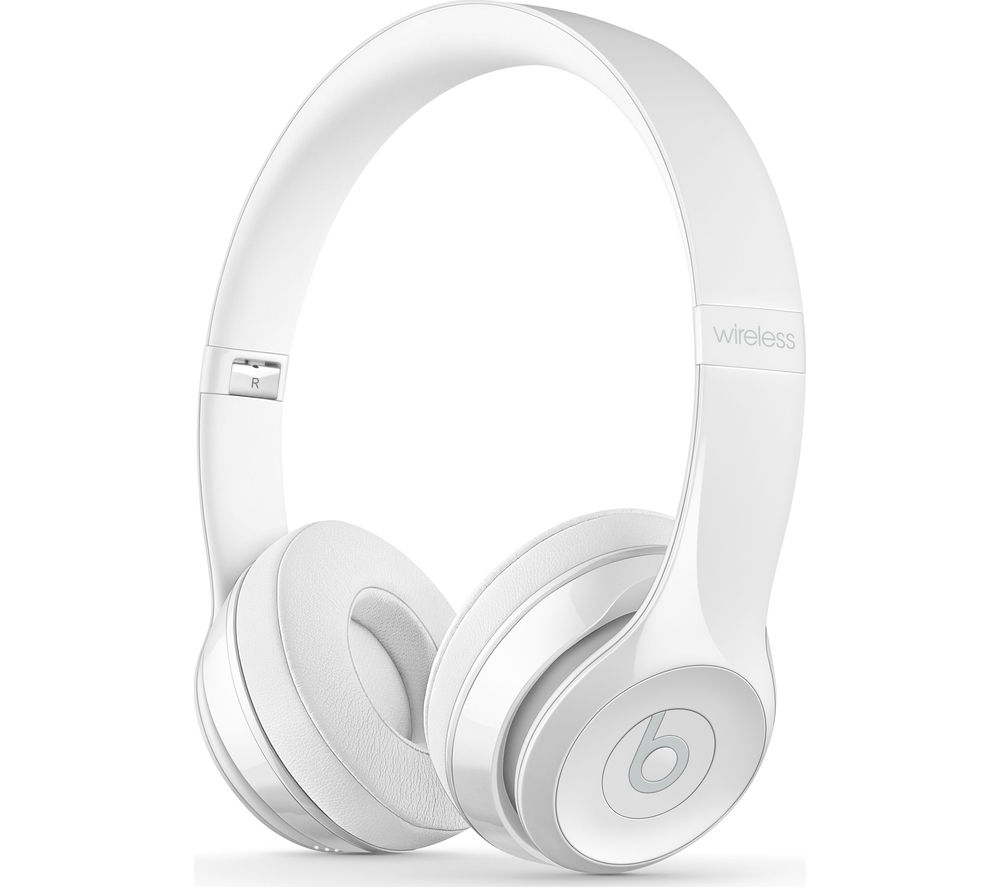 BEATS BY DR DRE Solo 3 Wireless Bluetooth Headphones - White