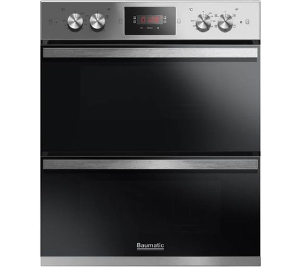 Baumatic Kitchen Appliances Buy Baumatic Bodm754x Electric Double Oven Stainless Steel