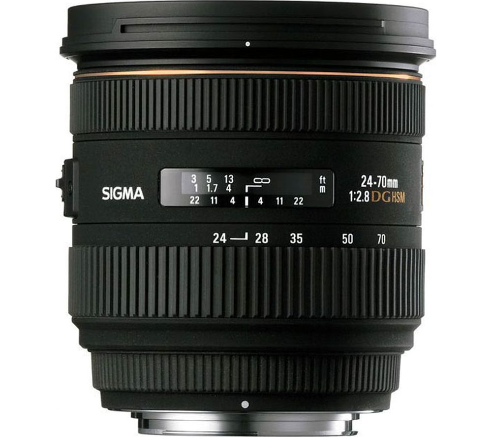 SIGMA 24-70 mm f/2.8 EX DG IF HSM Standard Zoom Lens - for Sony