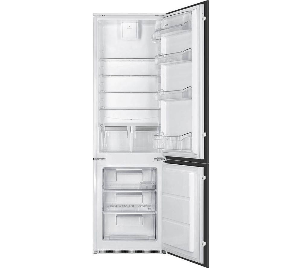 SMEG  UKC7280FP Integrated Fridge Freezer  White White