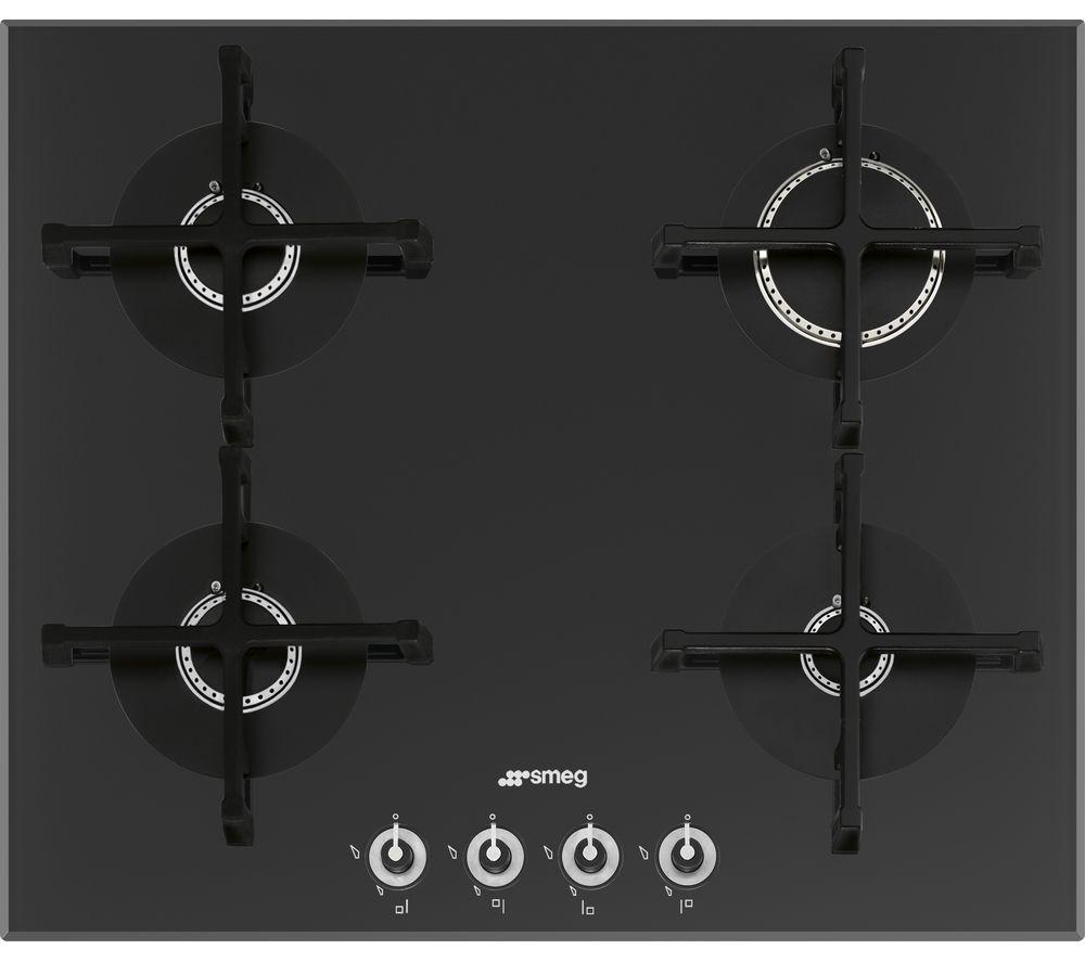 SMEG PV164N-1 Gas Hob - Black