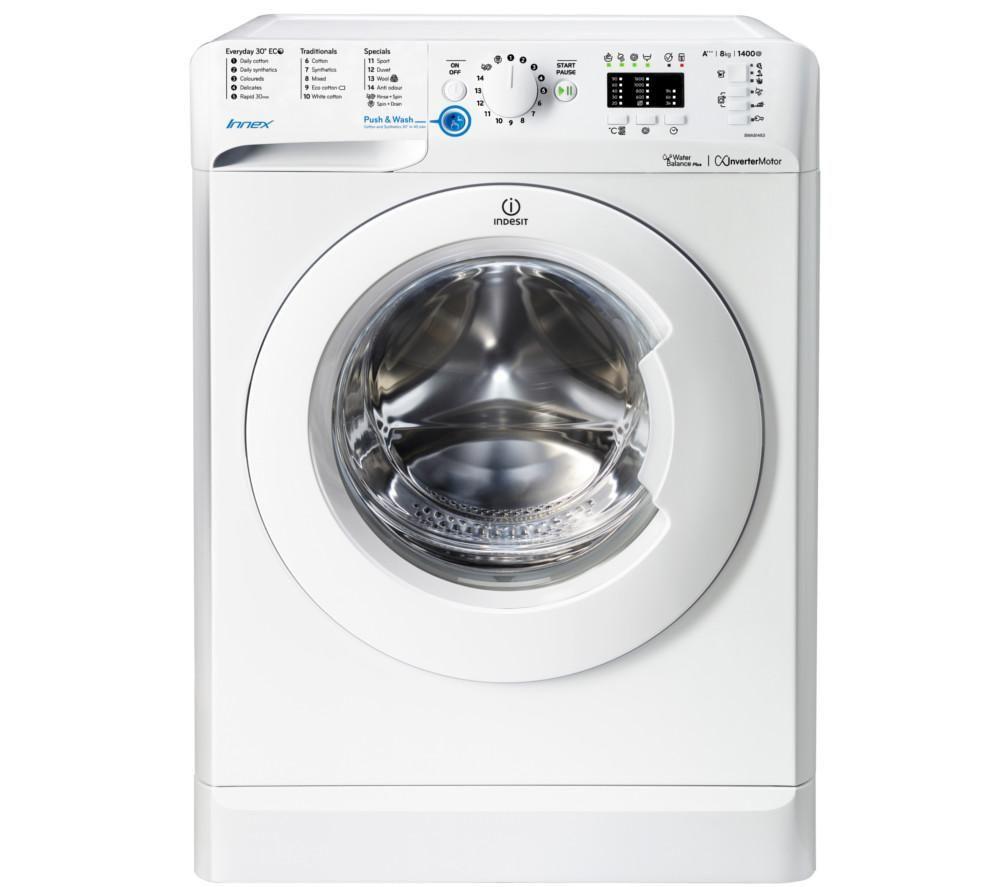 INDESIT Innex BWA 81483X W Washing Machine - White