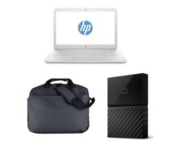 "HP Stream 14-ax054sa 14"" Laptop - White"