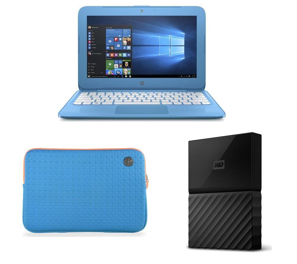 hp stream 11 y050sa 11 6 laptop 1 tb portable hard drive sleeve bundle aqua blue deals. Black Bedroom Furniture Sets. Home Design Ideas