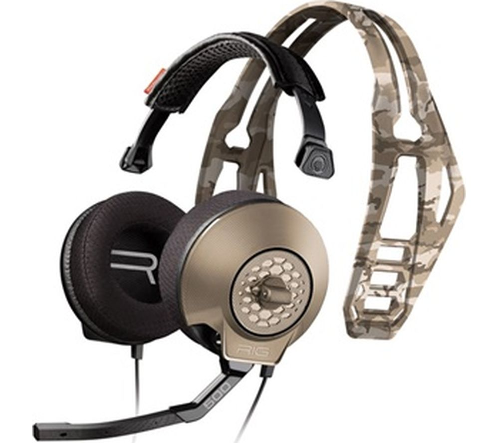 PLANTRONICS Rig 500HX Gaming Headset - Sand Camo