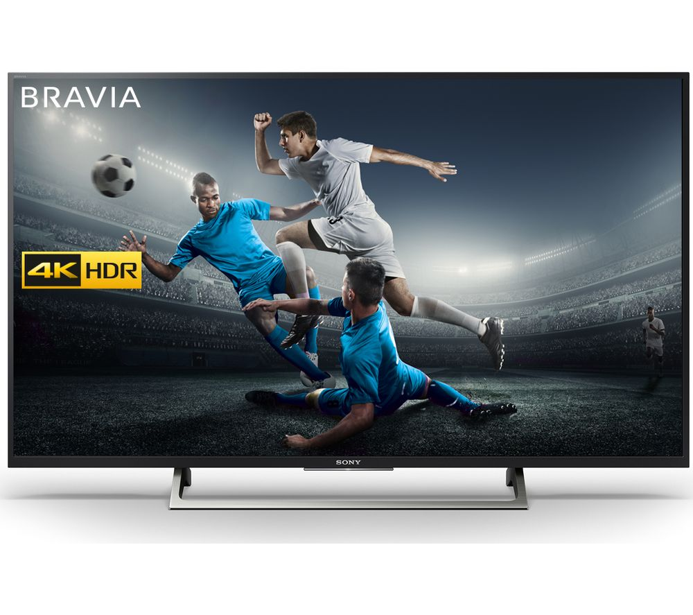 "SONY BRAVIA KD55XE7002 55"" Smart 4K Ultra HD HDR LED TV + SFLEZ14 Medium to Large Fixed TV Bracket"