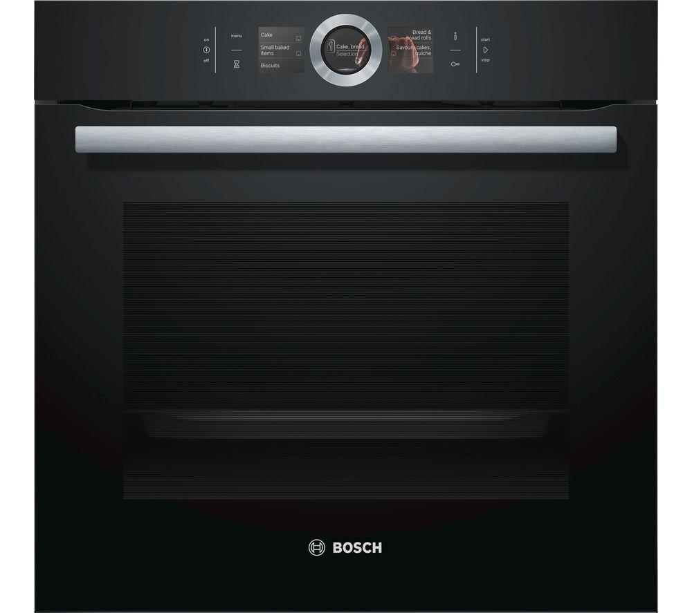 BOSCH HBG656RB6B Single Oven - Black & Stainless Steel