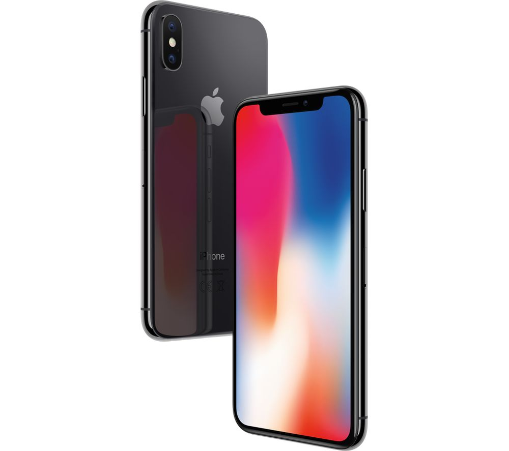 apple iphone x 64 gb space grey deals pc world. Black Bedroom Furniture Sets. Home Design Ideas