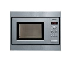 BOSCH HMT75M551B Built-in Solo Microwave - Brushed Steel [TRADEPLACE] (text duplicated)