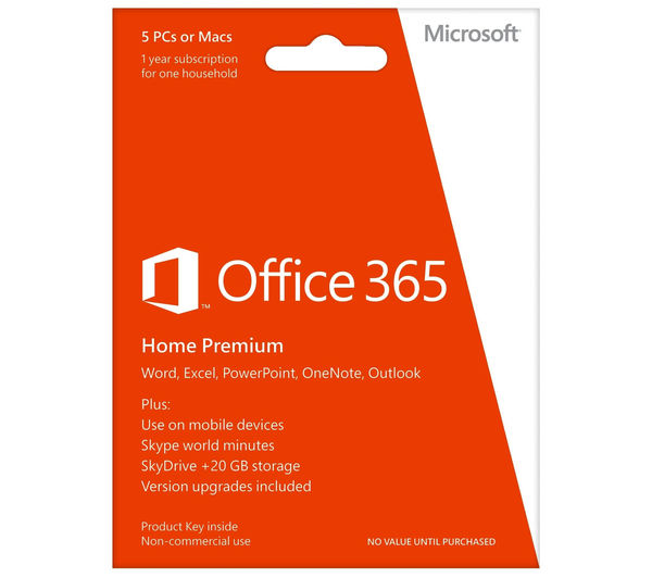 Buy MICROSOFT Office 365 Home | Free Delivery | Currys