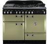 RANGEMASTER Elan 110 Dual Fuel Range Cooker - Olive Green