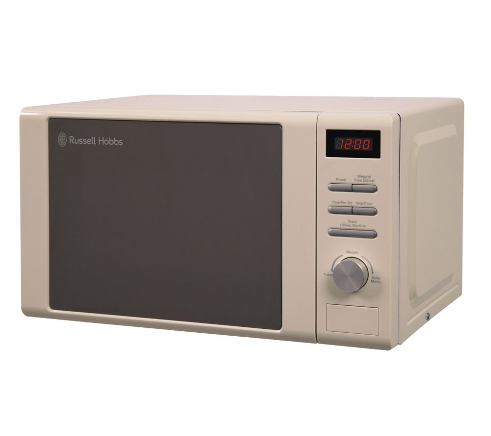 buy russell hobbs rhm2064c solo microwave cream free. Black Bedroom Furniture Sets. Home Design Ideas