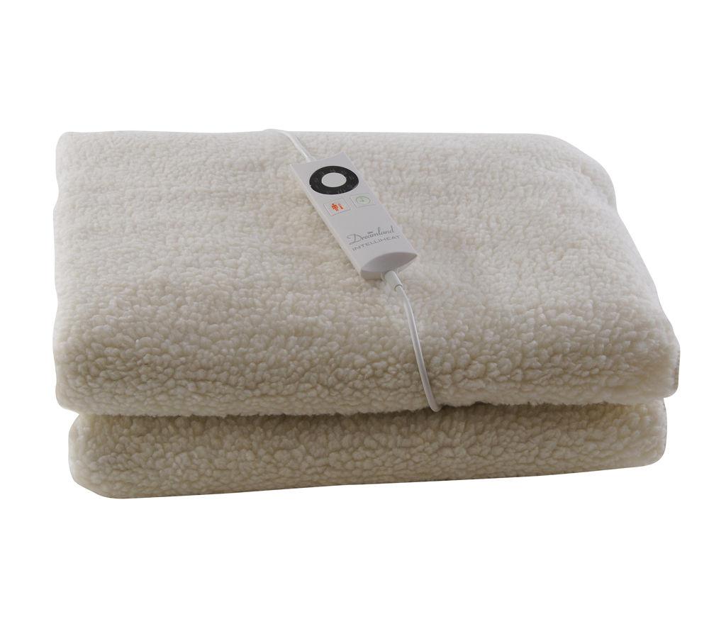 dreamland 6965 inteliheat fleece mattress protector single. Black Bedroom Furniture Sets. Home Design Ideas