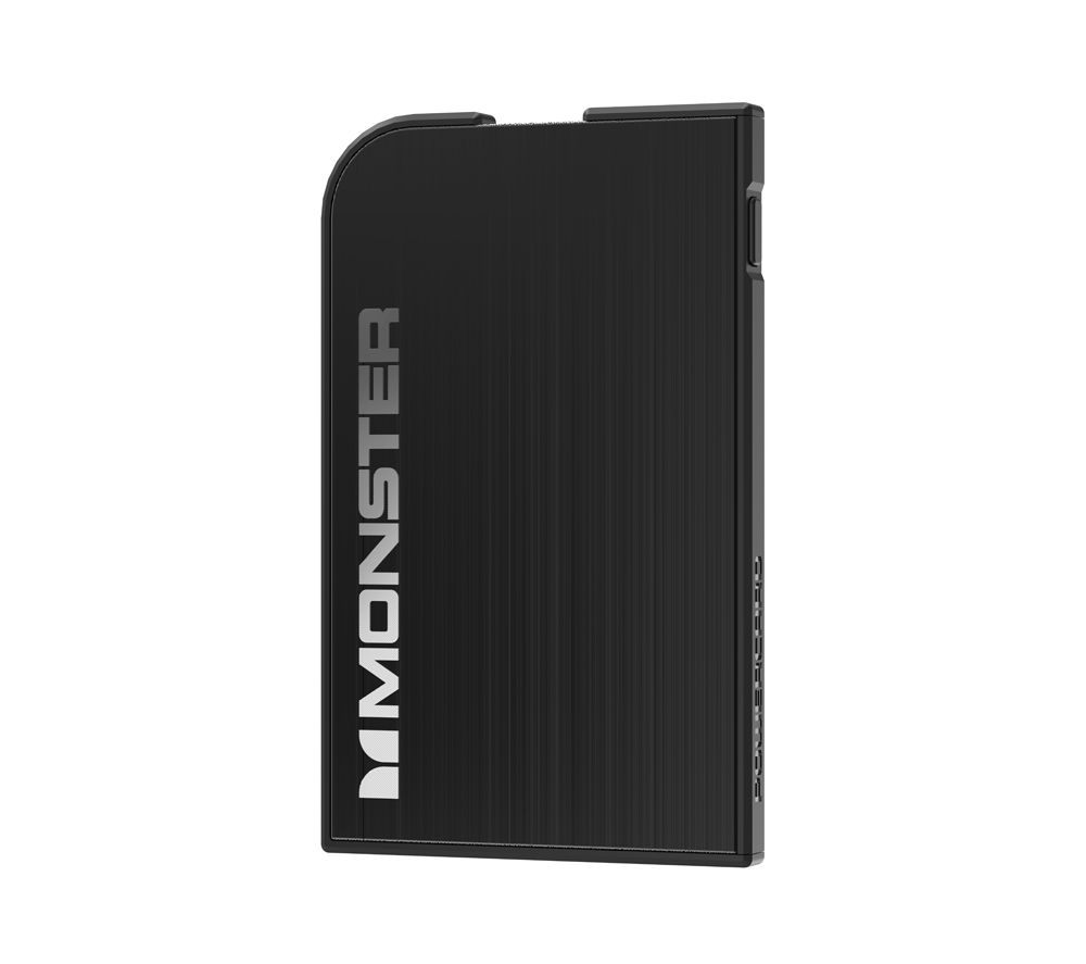 MONSTER Mobile PowerCard Rechargeable Portable Battery - Black