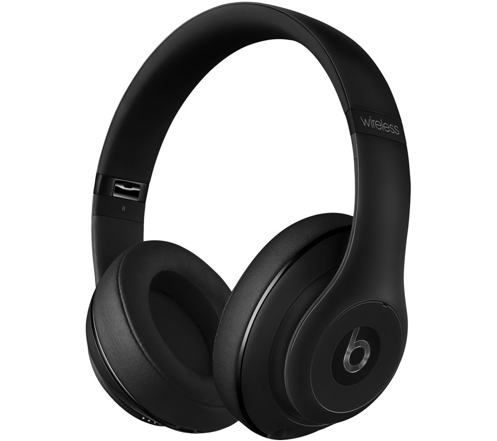 beats studio wireless bluetooth noise cancelling headphones matte black deals pc world. Black Bedroom Furniture Sets. Home Design Ideas