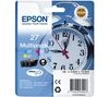 EPSON Alarm Clock 27 Cyan, Magenta & Yellow Ink Cartridges - Multipack