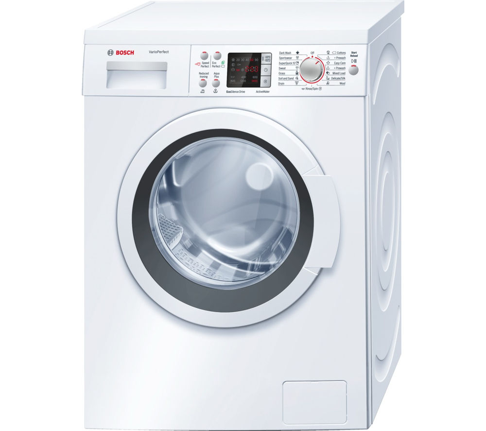 buy bosch waq284d0gb washing machine white free. Black Bedroom Furniture Sets. Home Design Ideas