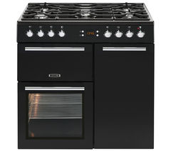 LEISURE AL90F230K Dual Fuel Range Cooker - Black