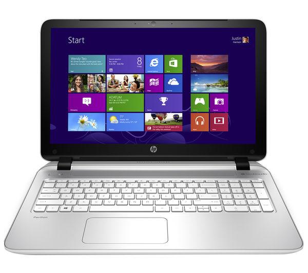 Hp Pavilion 15p078sa Refurbished 15.6 Laptop  White White
