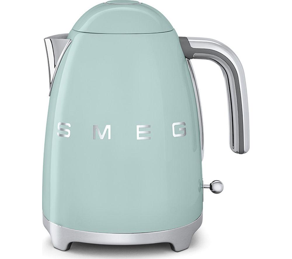 buy smeg klf01pguk jug kettle green free delivery currys. Black Bedroom Furniture Sets. Home Design Ideas